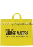 OEM Cheap Plastic Tote Bags with Soft Loop Handle