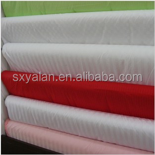 White hotel bedding fabric cotton textiles