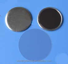 DN 58MM blank magnetic button with soft magnet