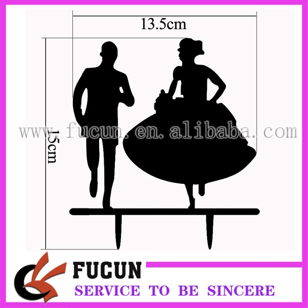 Eloping couples acrylic cake topper size.jpg