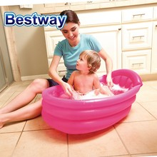 Inflatable Baby non slip bath tub assorted colors