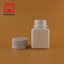 FDA 25cc child proof square container for medicine capsule