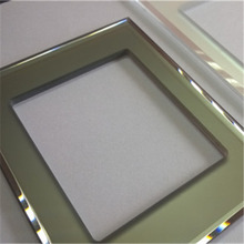 crystal touch switch glass panel for hotel light switch cover