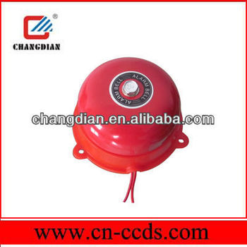 3 inch industrial fire alarm bell 110V Voltage and color can be customized