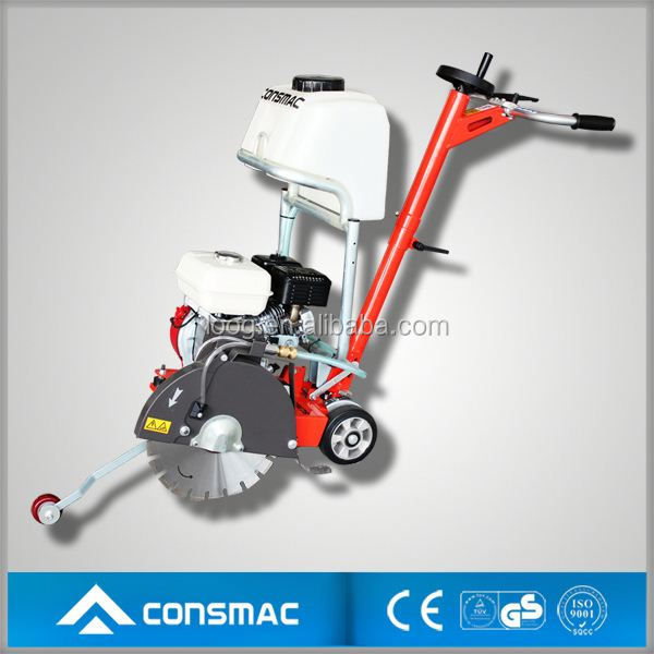 Diessel powered used electric walk behind concrete saw