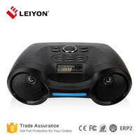 Home or Outdoor use Power bank type Portable Speaker with USB and FM radio