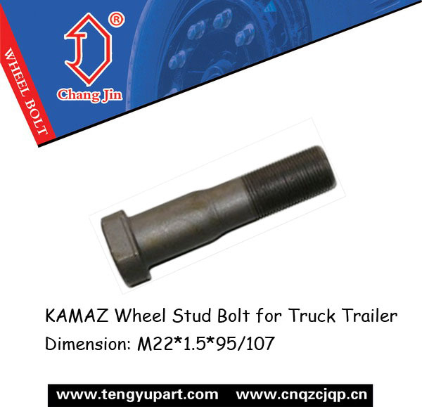 KAMAZ Wheel Stud Bolt for Truck Trailer 9919310405