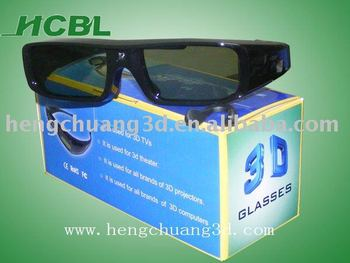 Rechargeable 3D TV Active Shutter Glasses For Sony Panasonic Sharp Toshiba LG