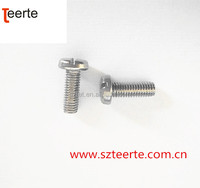 Stainless Steel 304 Pan Button Head Slotted Machine Screw