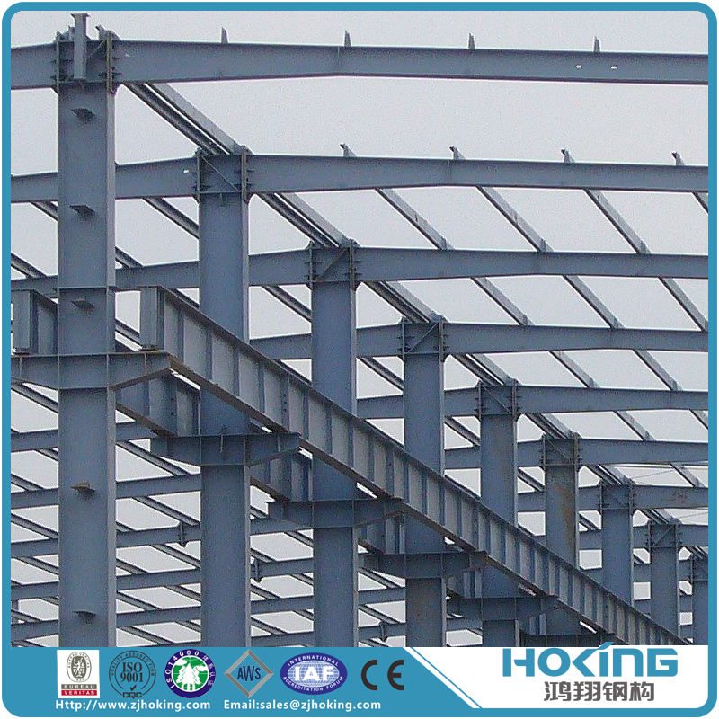 Economic and Easy to Install Modular Steel Structure Warehouse Workshop on Sale