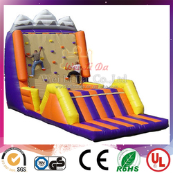 Giant Inflatable Sports Games of Climbing Wall for Adult