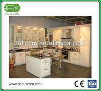 Ultra white kitchen cabinet door