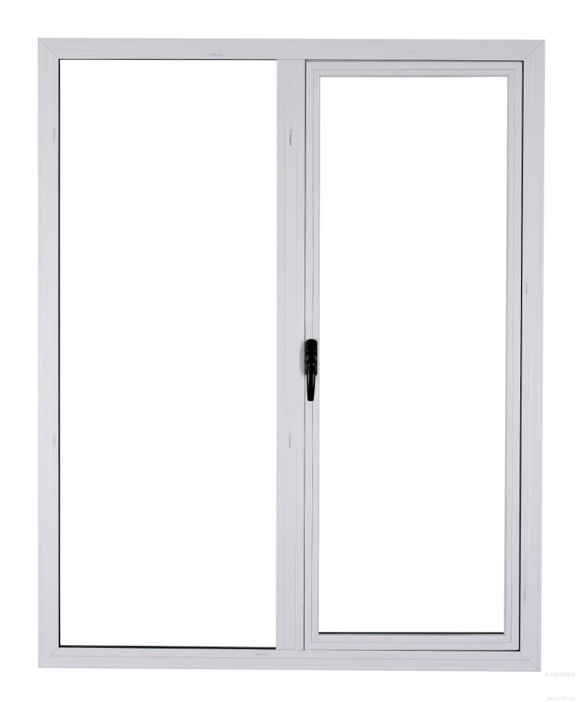 Aluminum double swing door for commercial swing door glass