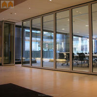 Training Room Glass Movable Partition