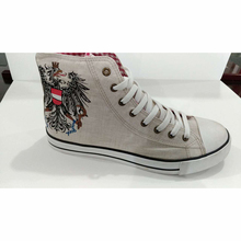 Comfortable new design youth canvas shoes with cheapest price