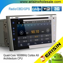 "Erisin ES3093P 7"" Android 5.1 Car Stereo System with GPS DVD Player"