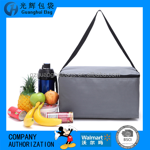 Waterproof Picnic Lunch cooler Bag Tote Insulated Cooler Travel Zipper Organizer Box