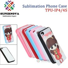 Blank Sublimation Cellphone Case for iPhone 4