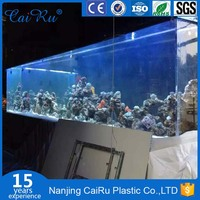 China Top large acrylic aquarium cabinet
