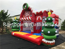inflatable chrismas theme bouncer for sale bouncer inflatable trampoline with slide