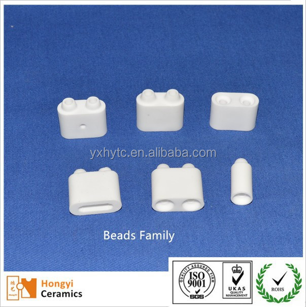 Ceramic beads for heating pad pink and white beads