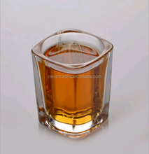 50ml square clear glass cup / Shot glass