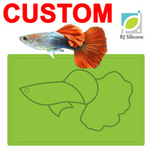 design fish shape heated kids dinner plate with logo wholesale catering cheap bulk dinner plates