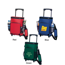 Wholesale Outdoor Camping Picnic Shopping Insulated Rolling Trolley Cooler Bag