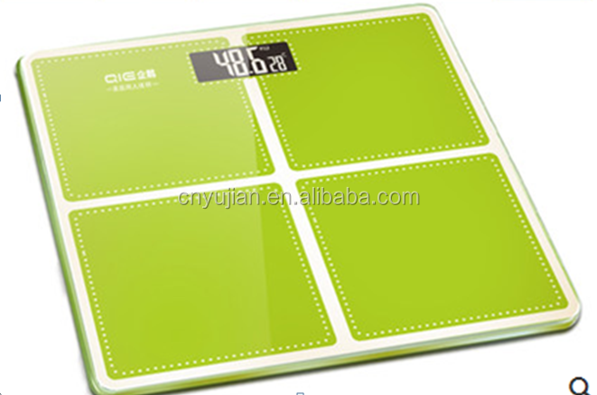 Hot sale Electronic Body <strong>scale</strong> Fashion LCD backlit Display bathroom <strong>Scale</strong> 180kg