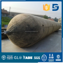 inflatable rubber easy handling ship salvage airbag