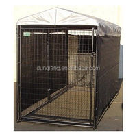 Weather Shade Kennel Cage Cover Sun Lucky Dog Windscreen Winter Summer Kit Rain