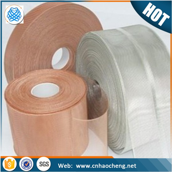 Fine Twill 100 Mesh Tinned Copper Mesh