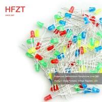 HFZT 1.5v 3mm 8mm uv uvc 50w led diode 5mm 12v and 3mm rgb rgbw 2w led diode 6v price