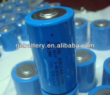 GEB ER34615 3.6V 14AH battery