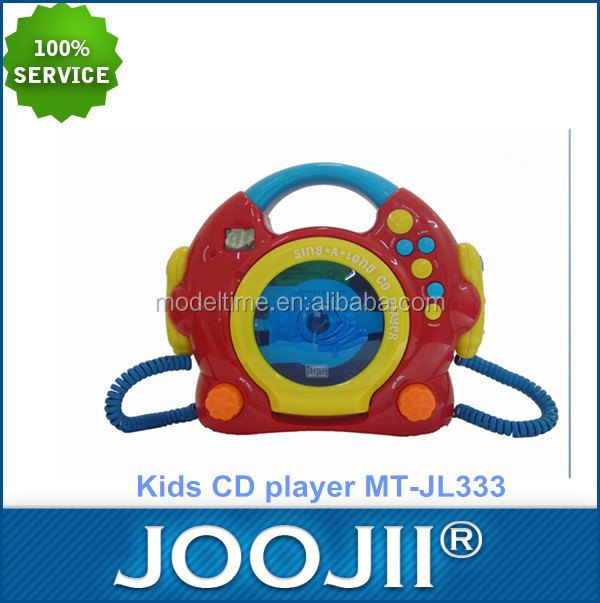 Portable Kids Simple CD player with microphone