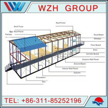 Portable prefab house for sale cheap prefabricated moular house home