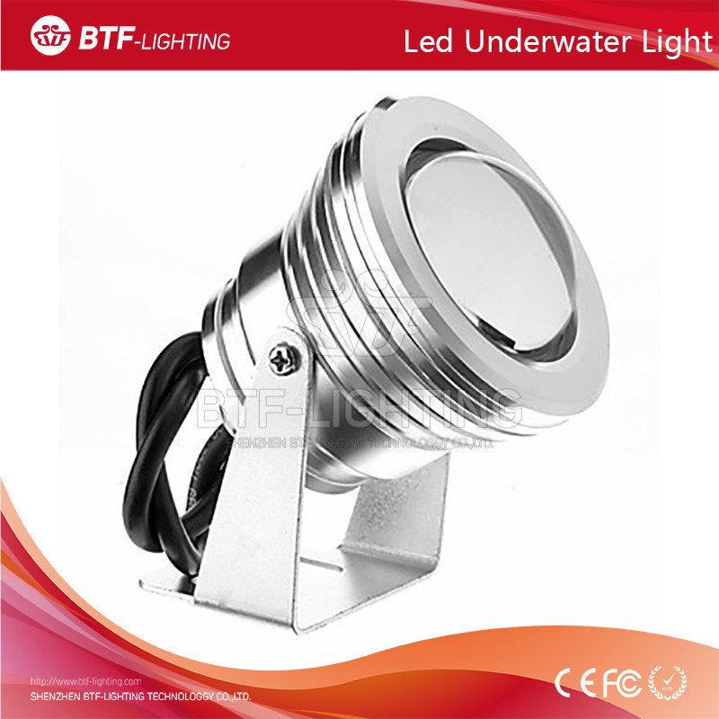 10W Spray pool underwater light Red Color 85-265V Waterproof outdoor led light underwater with Convex Glass