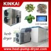 Hot air heat pump dryer /herb drying machine / commercial fruit dehydration