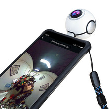 Mini Wireless Camera support USB Connection , 720 Degree Panoramic Digital Camera for Android Smartphone