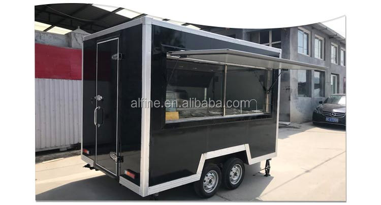 Factory Wholesale Price Mobile catering fast food trailer with CE certificate for sale