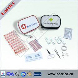 Wholesale FDA approved PU travel first aid round case