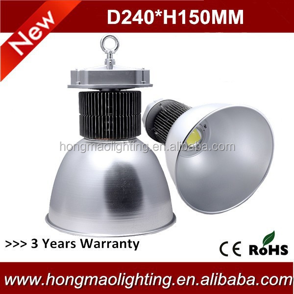 Long working time 90 beam angle 160w industrial led down light
