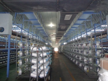 Filament winding (Polyester yarns, Spandex nylon yarns, Rubber covered yarns)