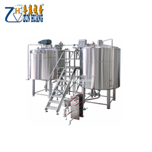 3bbl 5bbl micro brewhouse commercial beer brewery equipment brewing system for pub/hotel