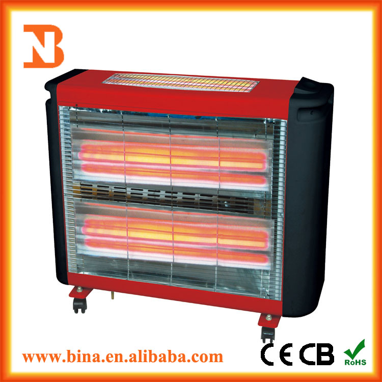 Freestanding Humidifier Quartz Infrared Heater 220V