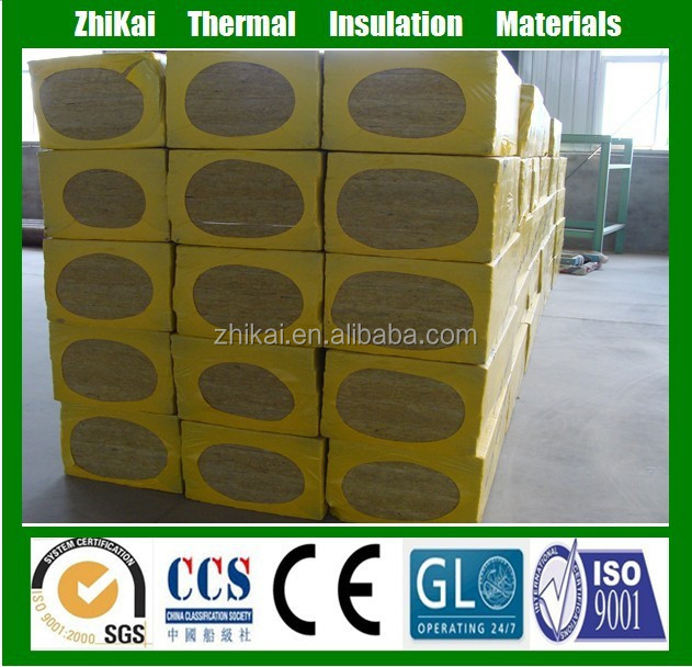 100mm thick Aluminium foil faced mineral wool insulation board with OEM Price
