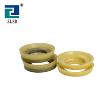 IHI Concrete Pump Spare Parts Wearing Rubber Steel Material Piston