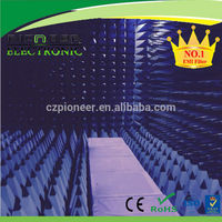 EMI absorbers for RF chamber and RF cabinet