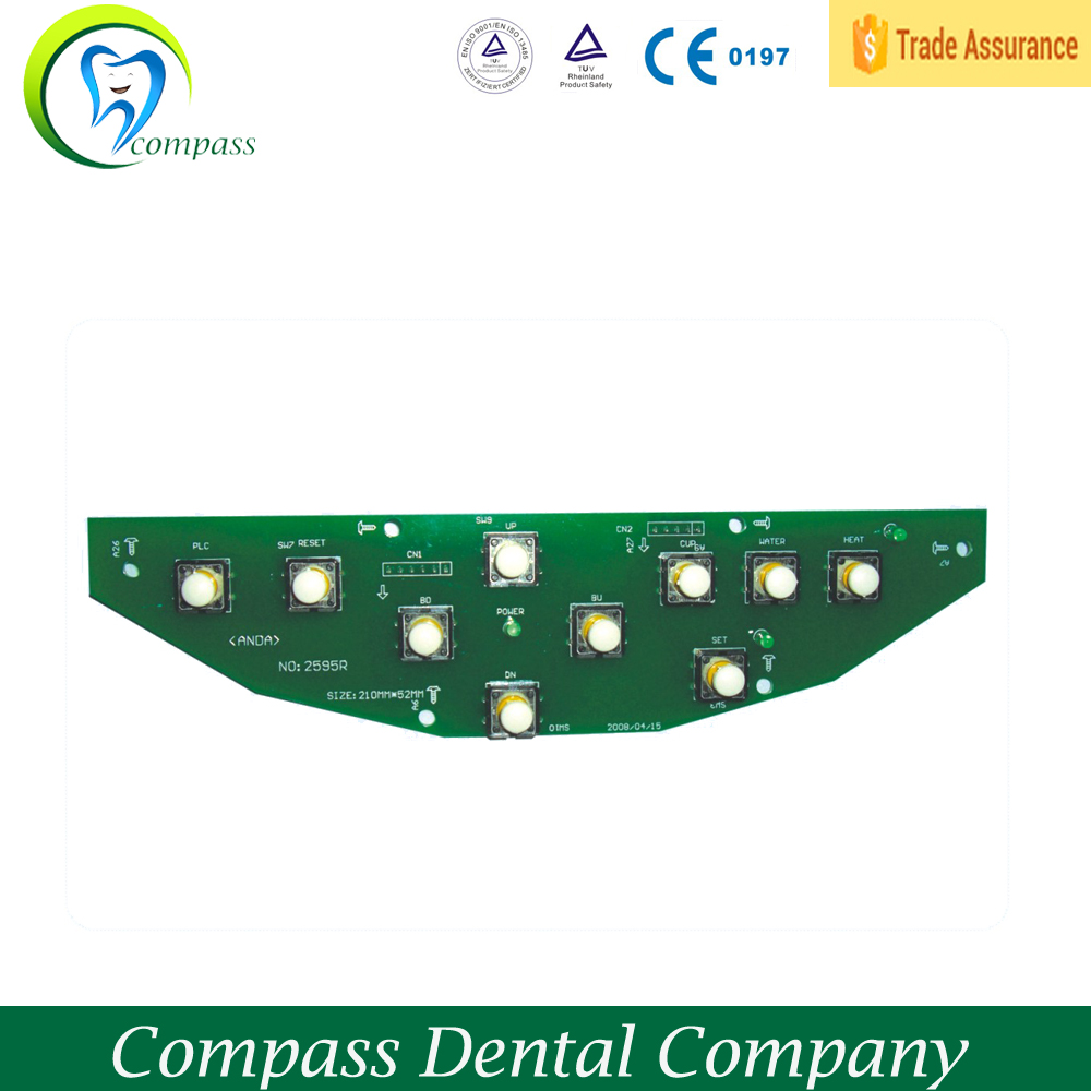 Hot sale Foshan China manufacturer used dental chair spare parts dental chair equipment RV109 dentist tray touch panel