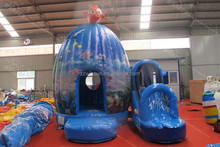 submarine world inflatable bounce house